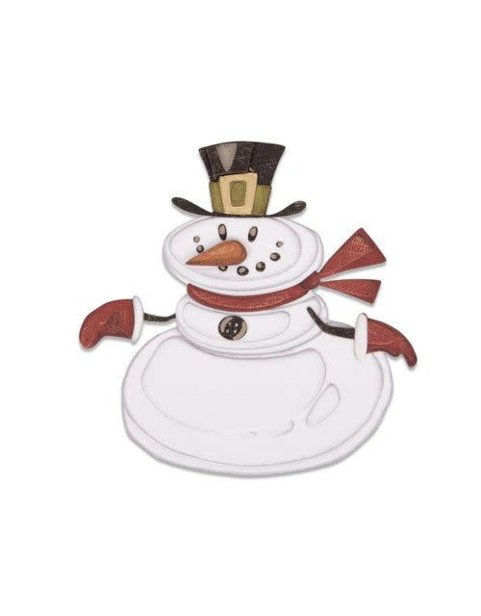 Sizzix Sizzix Thinlits Die set - 11PK Mr. Snowman Colorize 664230 Tim Holtz