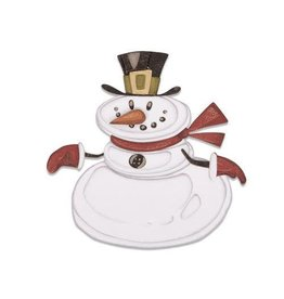 Sizzix Sizzix Thinlits Die set - 11PK Mr. Snowman Colorize 664230 Tim Holtz