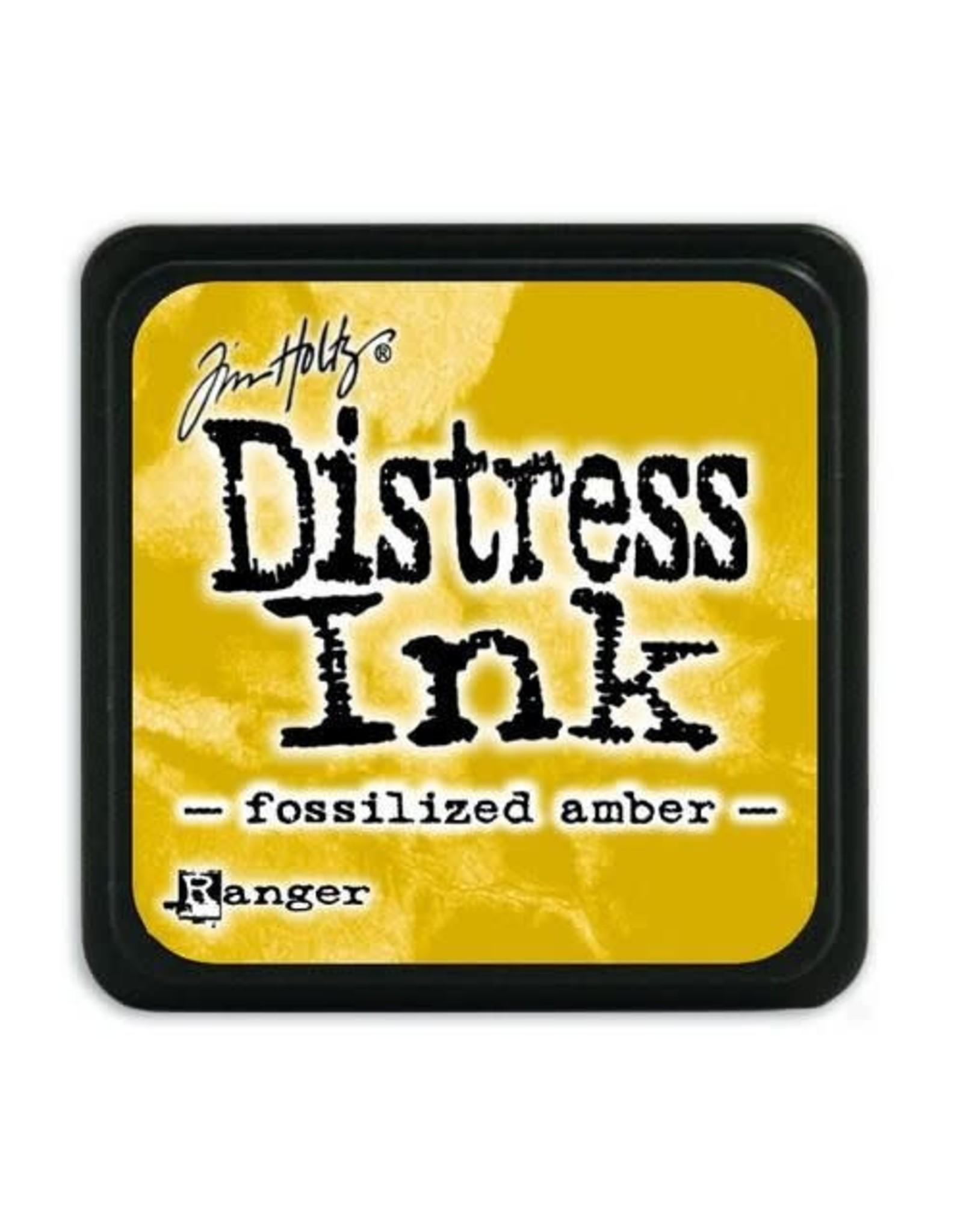 Ranger Ranger Distress Mini Ink pad - fossilized amber TDP46783 Tim Holtz