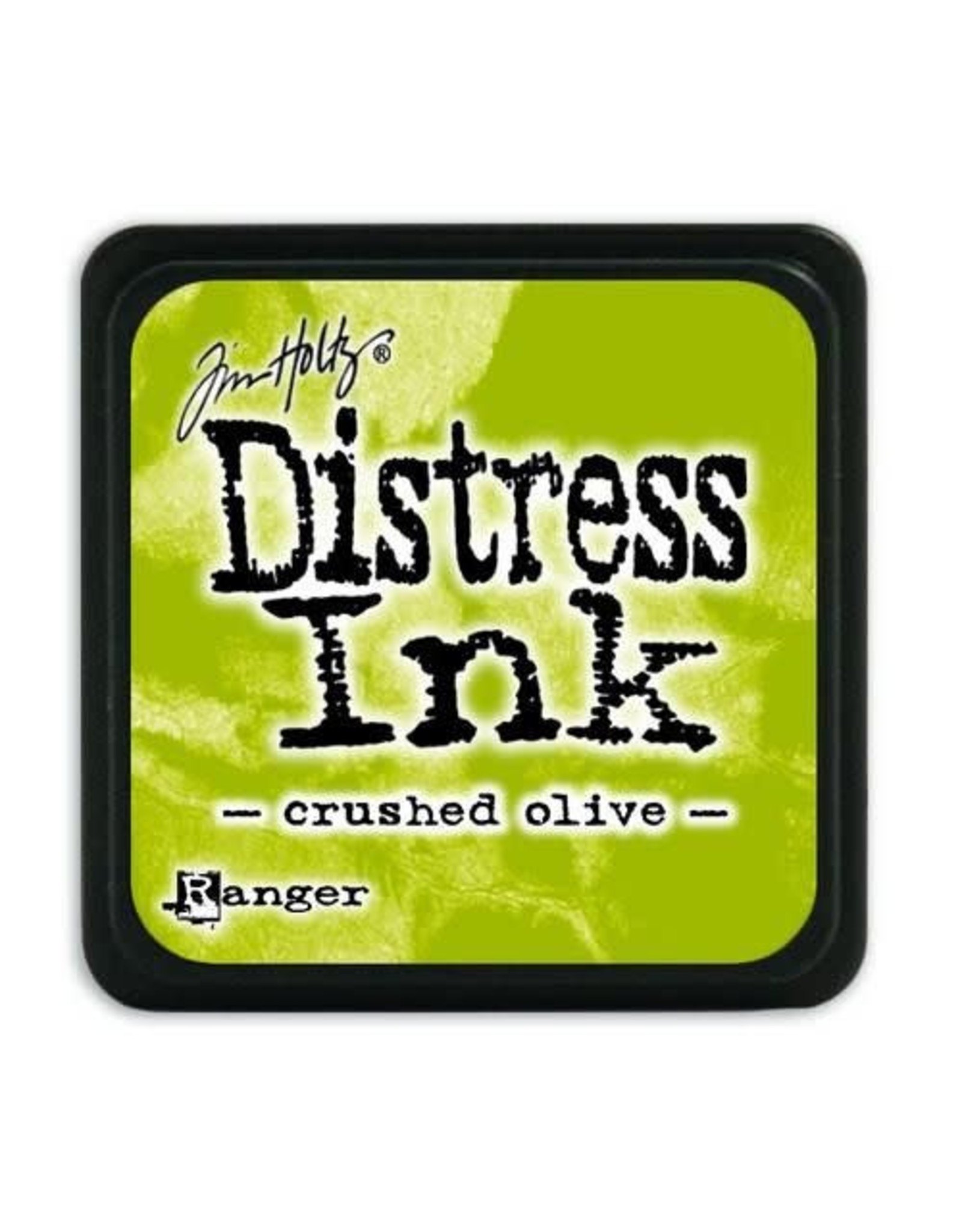 Ranger Ranger Distress Mini Ink pad - crushed olive TDP39914 Tim Holtz