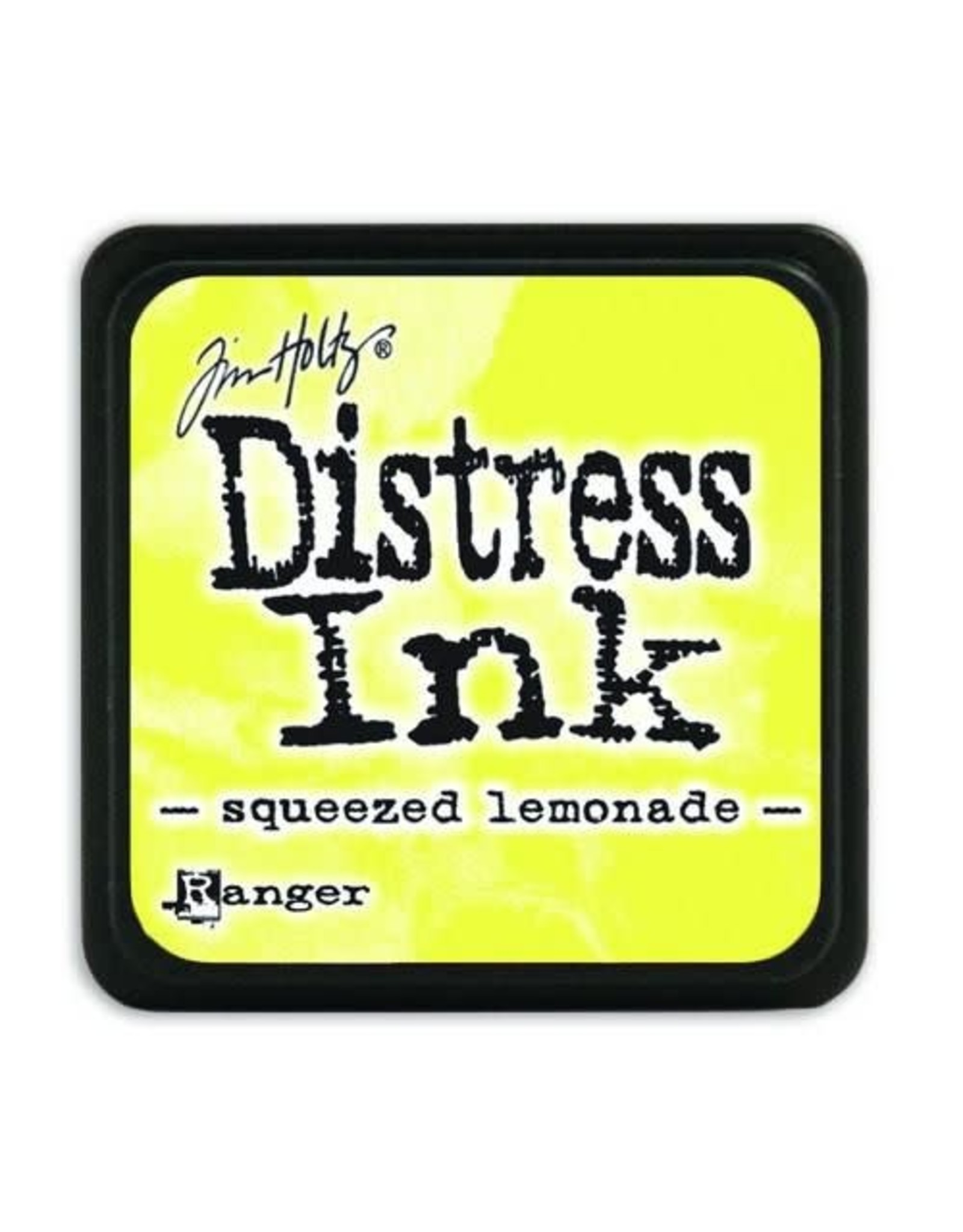 Ranger Ranger Distress Mini Ink pad - squeezed lemonade TDP40200 Tim Holtz