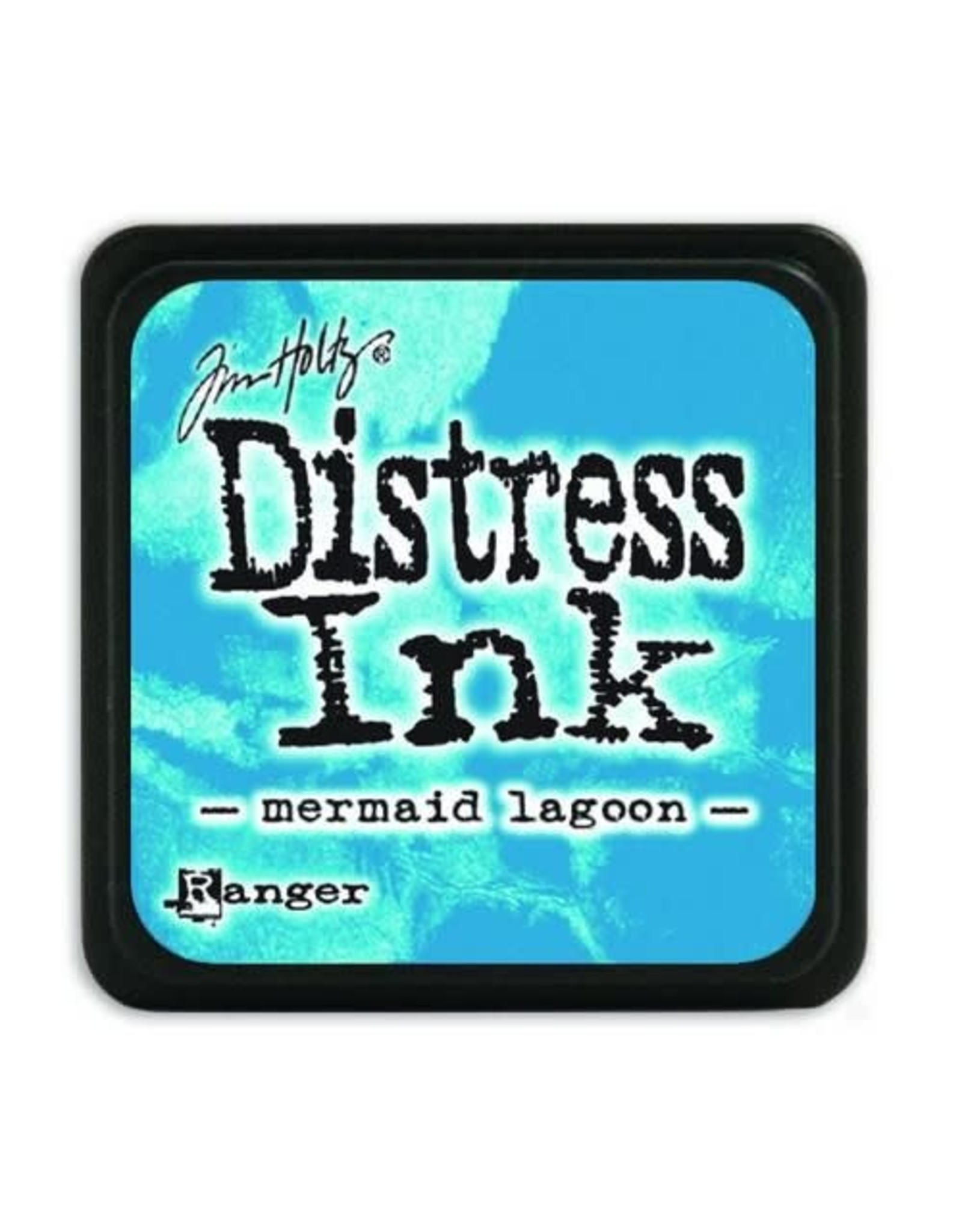 Ranger Ranger Distress Mini Ink pad - mermaid lagoon TDP46790 Tim Holtz