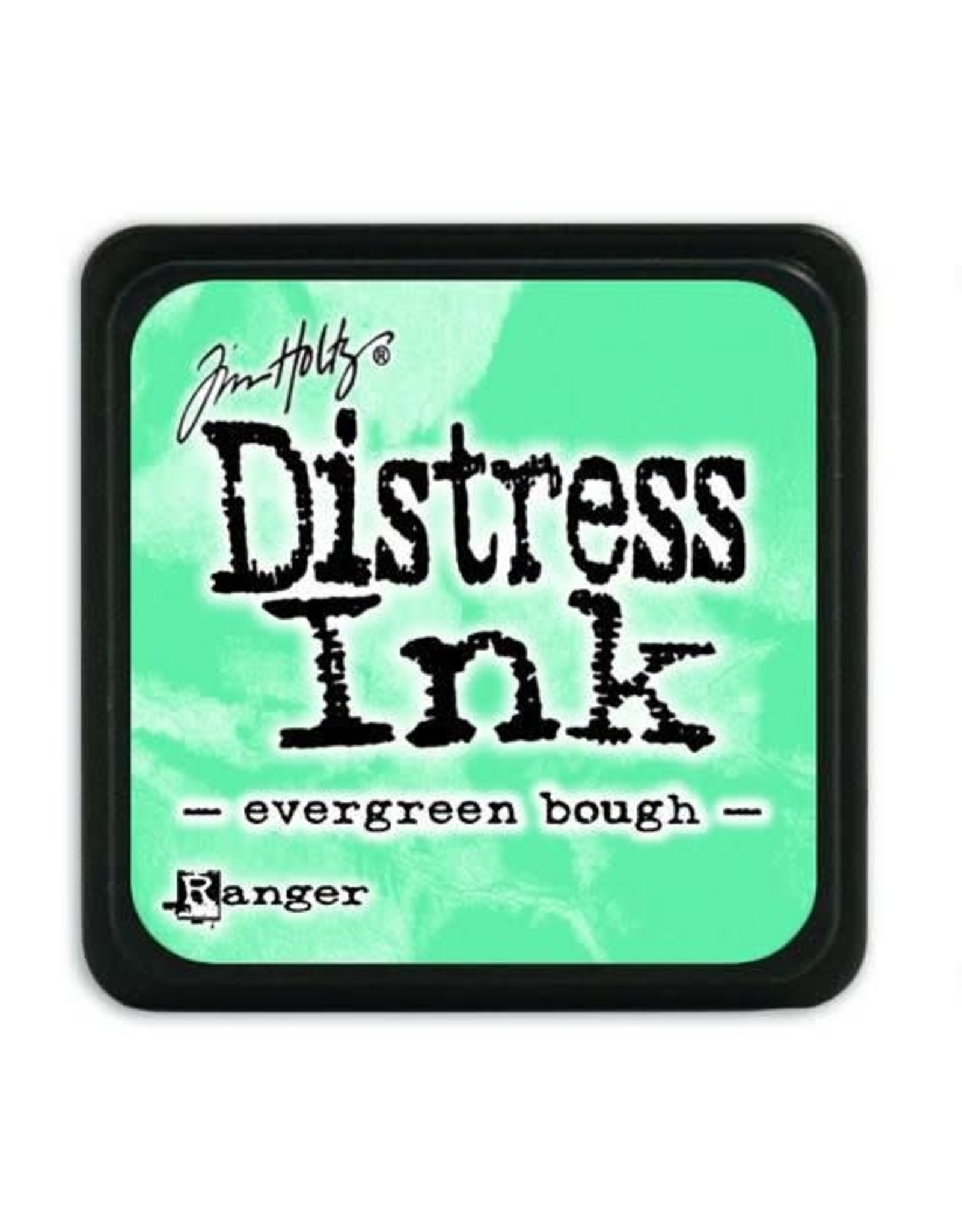 Ranger Ranger Distress Mini Ink pad - evergreen bough TDP39945 Tim Holtz