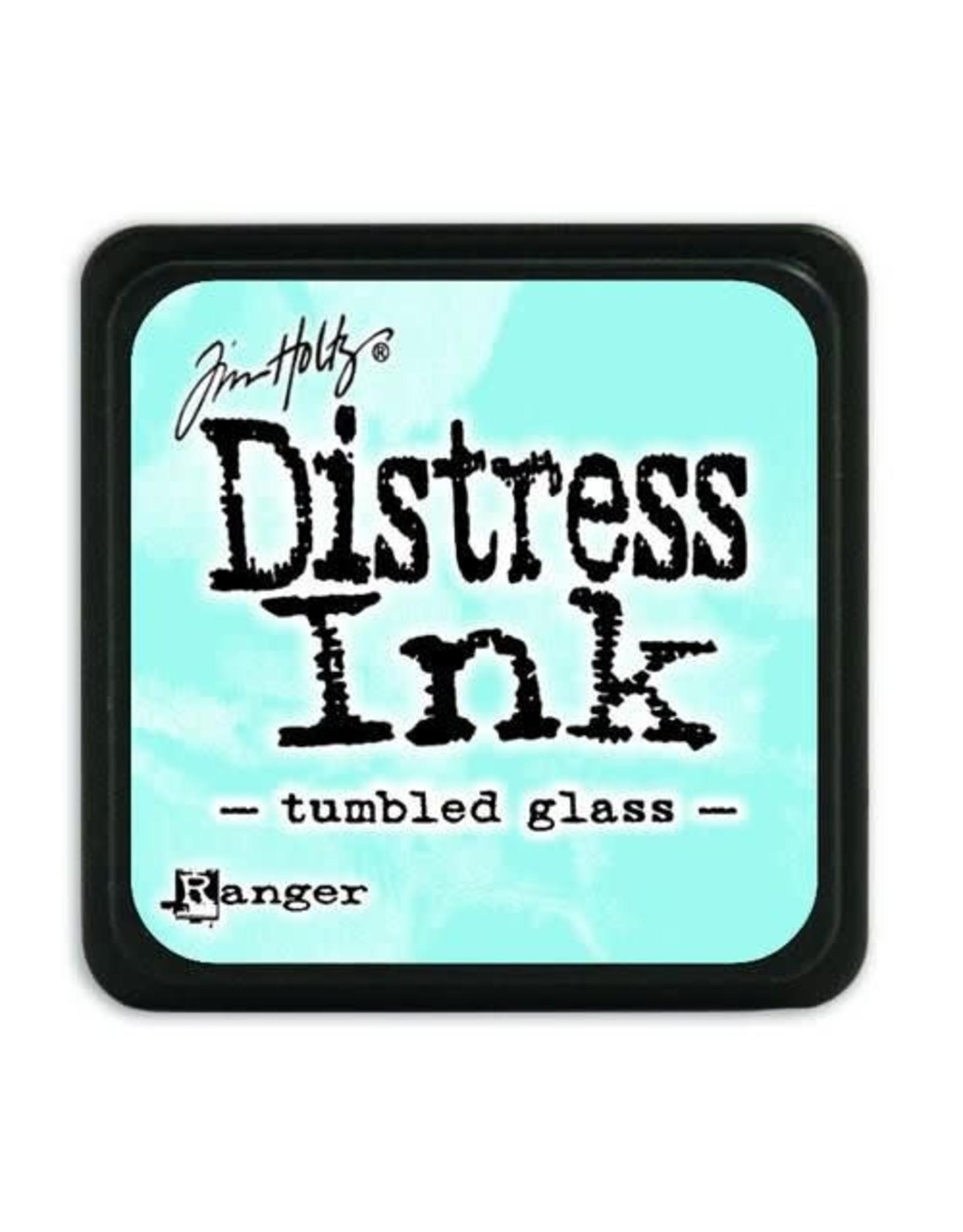Ranger Ranger Distress Mini Ink pad - tumbled glass TDP40248 Tim Holtz