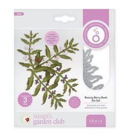 Tonic Studios Tonic Studios Die - Susans Garden Club - Beauty Berry Bush 3025E