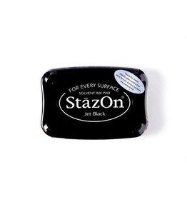 Stazon Stazon inktkussen Jet Black