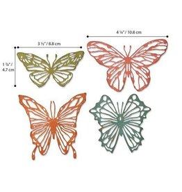 Sizzix Sizzix Thinlits Die Set - 4PK Scribbly Butterflies 664409 Tim Holtz