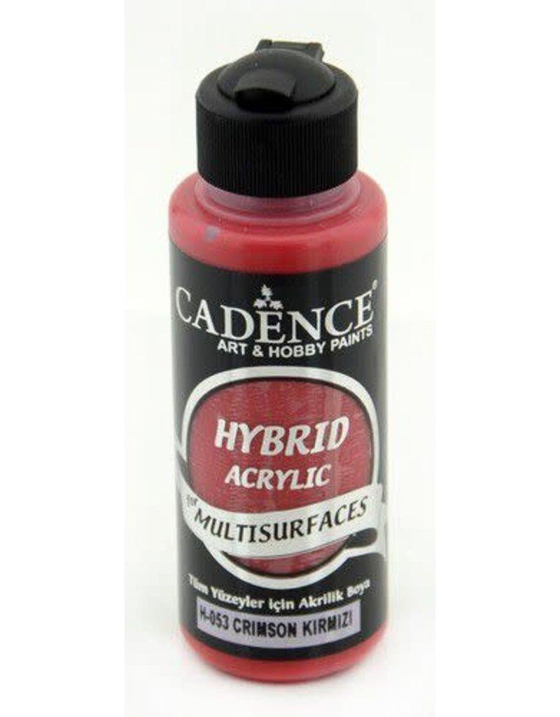 Cadence Cadence Hybride acrylverf (semi mat) Crimson Rood