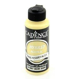 Cadence Cadence Hybride acrylverf (semi mat) Licht Geel