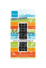 Marianne Design Marianne D Craftable Punch die puzzle CR1492