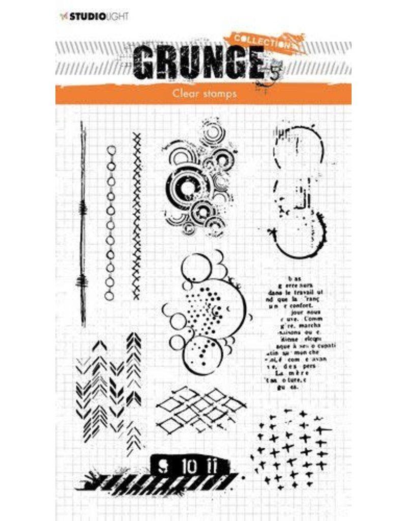 Studio Light Studio light Clear Stamp Grunge Collection 3.0 nr 409 STAMPSL409