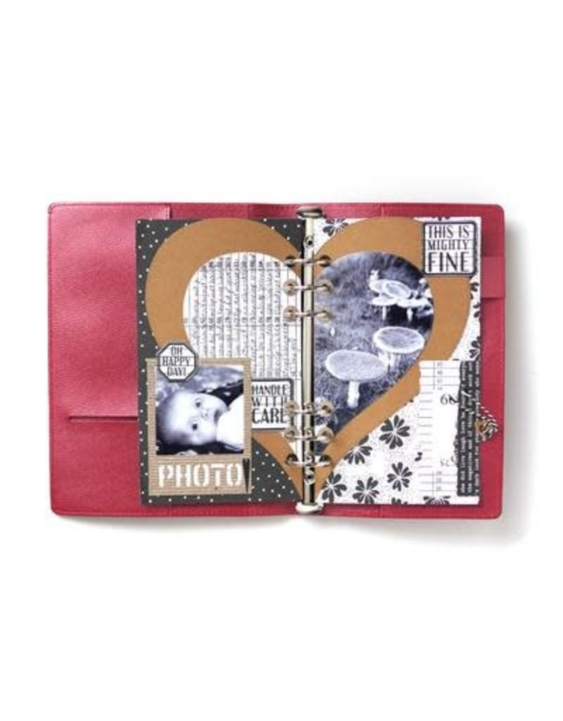 Elizabeth Craft Designs Elizabeth Craft Design Planner Essentials 20 - Half Heart Page Set 1738