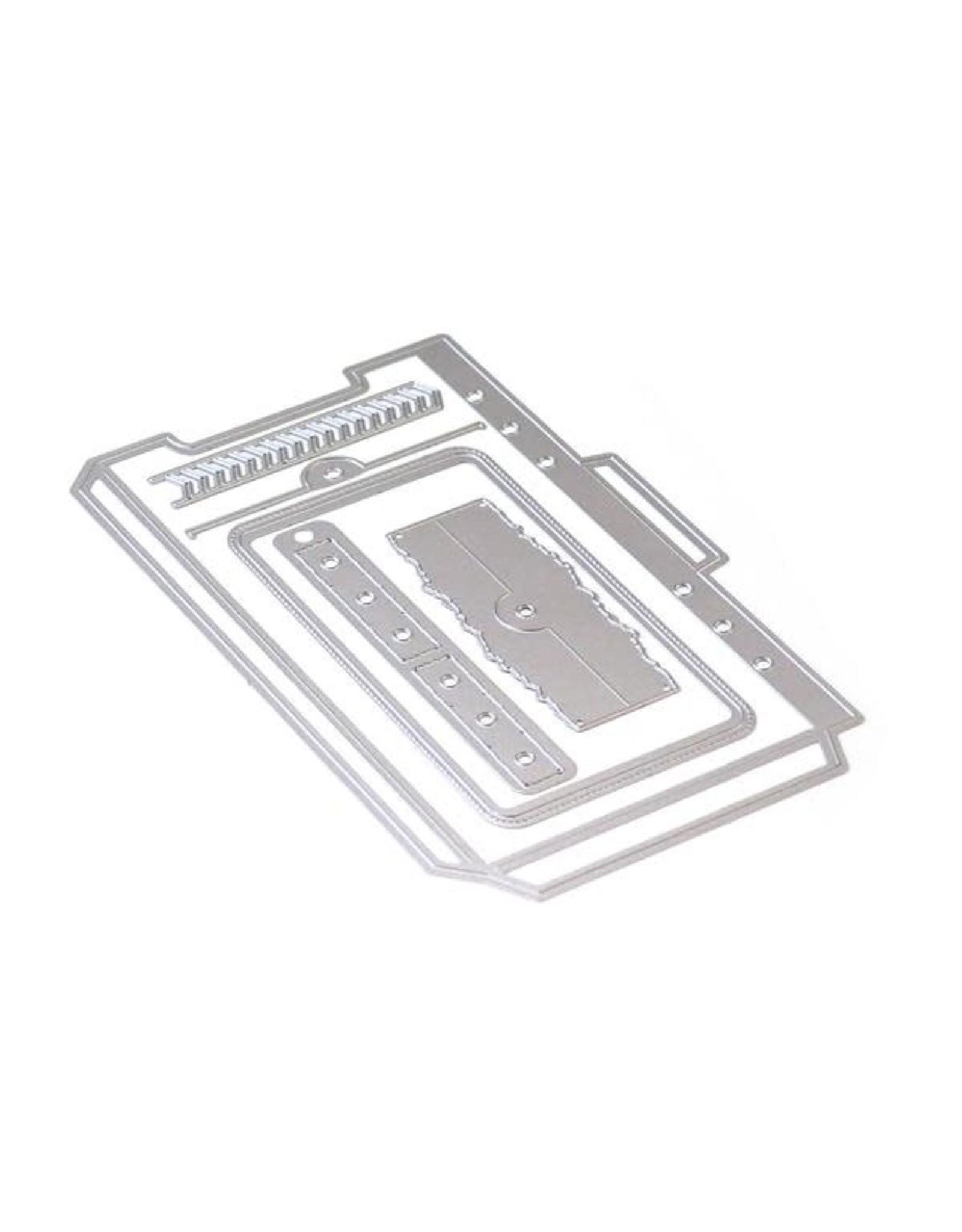 Elizabeth Craft Designs Elizabeth Craft Designs Planner Essentials 22 - Planner Pocket 4 - Top Loading 1740
