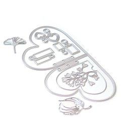 Elizabeth Craft Designs Elizabeth Craft Designs Planner Essentials 25 - Double Heart Insert 1743