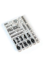 Elizabeth Craft Designs Elizabeth Craft Designs Pieces of Life 1 - Numbers & More CS160
