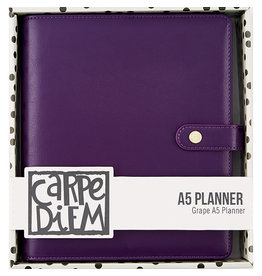 Carpe Diem Carpe Diem Grape A5 Planner Cover