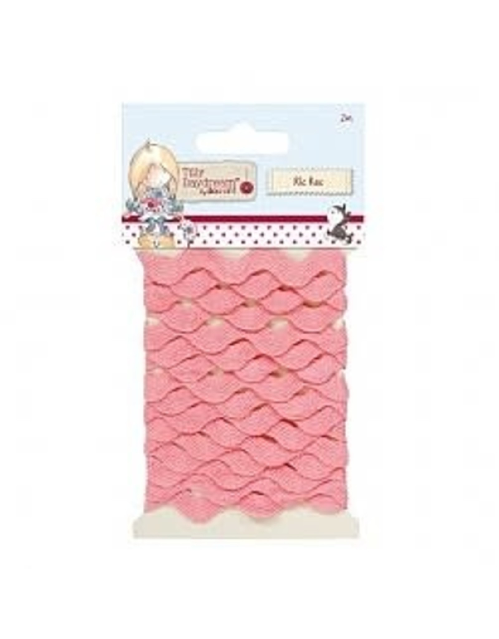 Docrafts Do Crafts  Tilly Dream Ric Rac Roze