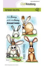 Craft Emotions CraftEmotions clearstamps A6 - Bunny 1 Carla Creaties