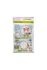 Craft Emotions CraftEmotions clearstamps A6 - Sheep 1 Carla Creaties