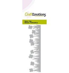 Craft Emotions CraftEmotions Die - Grasrand klaver Card 5x10cm