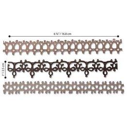 Sizzix Sizzix Thinlits Die Set - 3PK Crochet #2 664413 Tim Holtz
