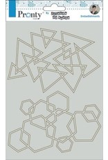 Pronty Pronty Chipboard ?Silhouette A5 492.010.012 by Jolanda