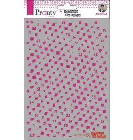 Pronty Pronty Mask Background Pattern Grunge A5 470.770.027 by Jolanda