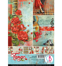 Ciao Bella Ciao Bella Tango Double-Sided Creative Pad A4