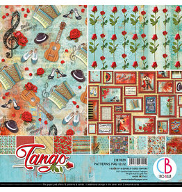 "Ciao Bella Ciao Bella Tango Double-Sided Patterns Pad 12""x12"""