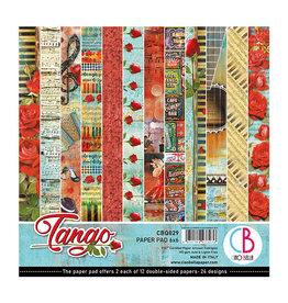 "Ciao Bella Ciao Bella Tango Double-Sided Paper Pad 6""x6"""
