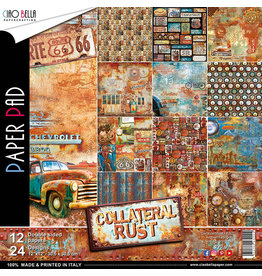 "Ciao Bella Ciao bella Collateral Rust Double-Sided Paper Pad 12""x12"""
