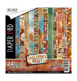 """Ciao Bella Ciao Bella Collateral Rust Double-Sided Paper Pad 6""""x6"""""""