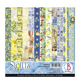 """Ciao Bella Ciao Bella Sicilia Double-Sided Paper Pad 6""""x6"""""""