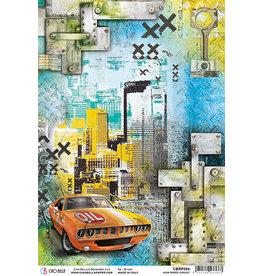 Ciao Bella Ciao Bella Piuma Rice Paper A4 - High Speed Circuit