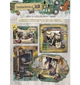 Studio Light Studio Light Stansblok A4 12 vel Industrial 3.0 nr.89 STANSBLOKSL89