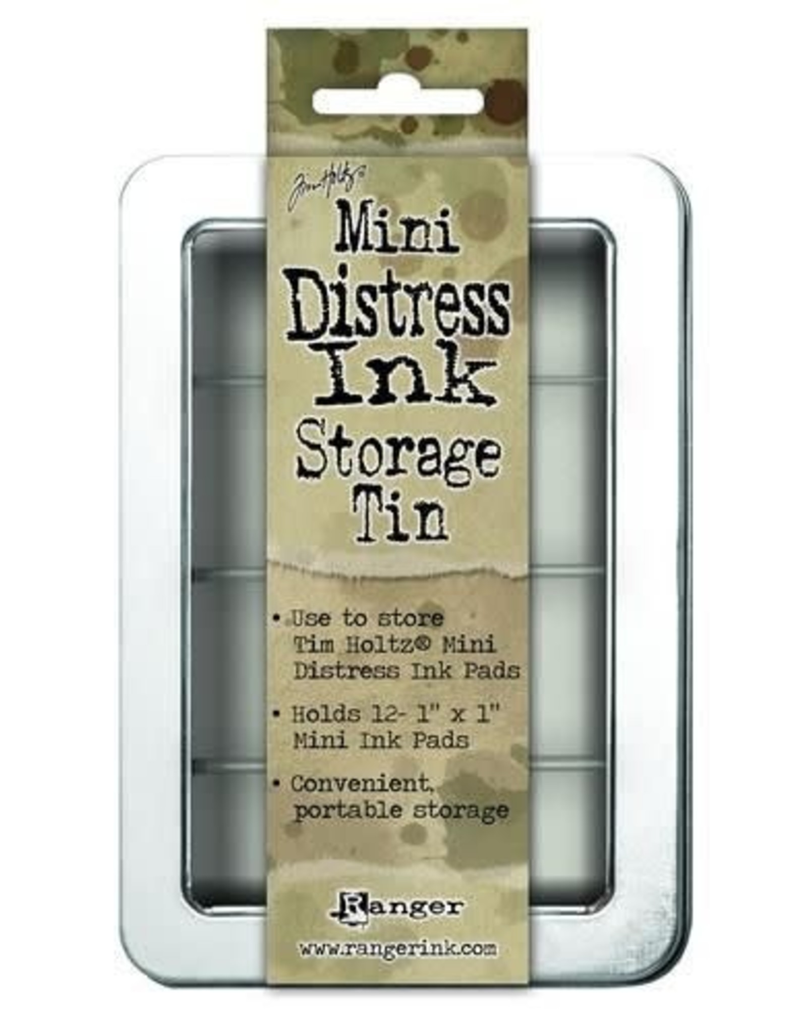 Ranger Ranger Mini Distress Ink storage tin TDA42013 Tim Holtz