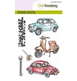 Craft Emotions CraftEmotions clearstamps A6 - Classic Cars 2