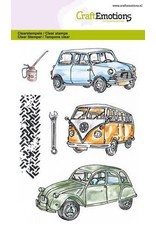 Craft Emotions CraftEmotions clearstamps A6 - Classic Cars 1