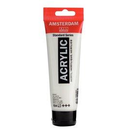 Amsterdam Amsterdam Acrylverf Tube 120 ml Zinkwit 104