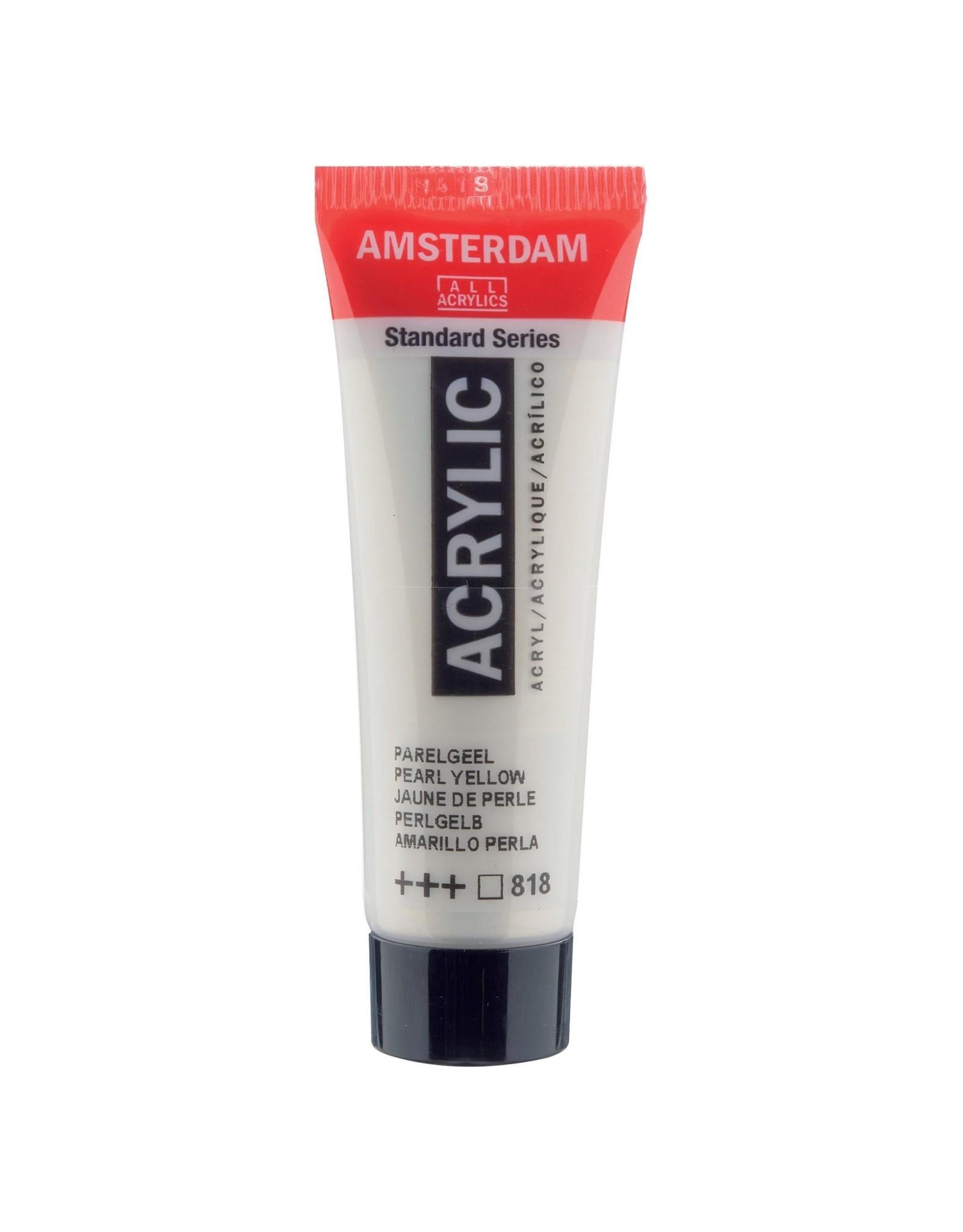 Amsterdam Amsterdam Acrylverf Tube 20 ml Parelgeel 818