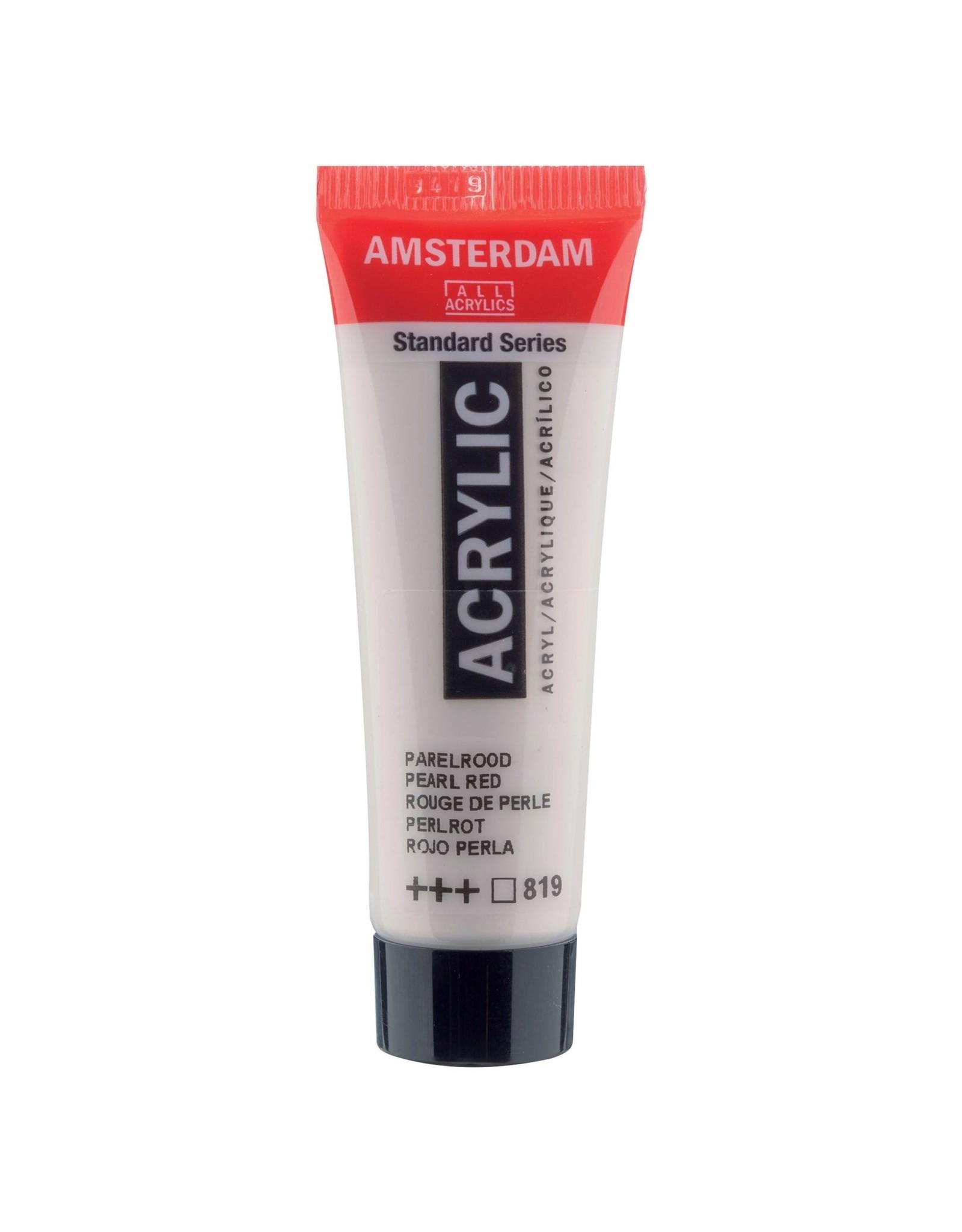 Amsterdam Amsterdam Acrylverf Tube 20 ml Parelrood 819