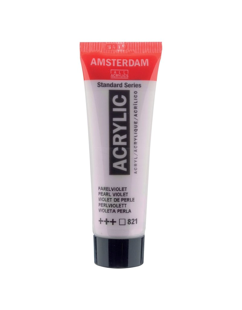 Amsterdam Amsterdam Acrylverf Tube 20 ml Parelviolet 821