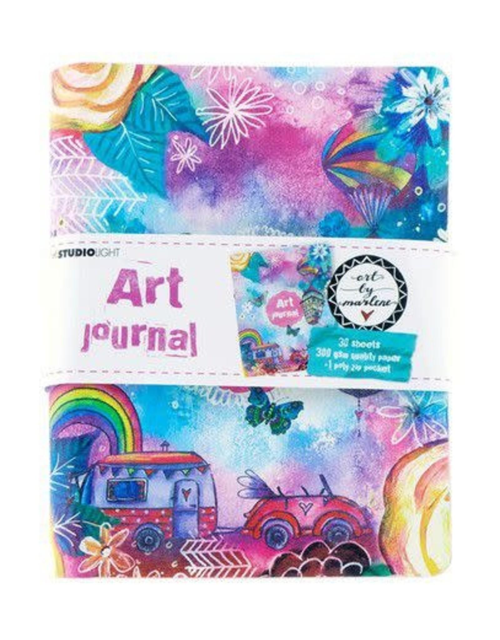 Studio Light Studio Light Ringbinder Art Journal Art By Marlene 5.0 nr.09 JOURNALBM09