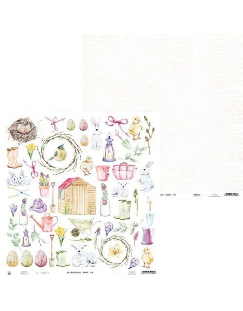 Piatek Piatek13 - Paper The Four Seasons - Spring 07b P13-SPR-98 12x12