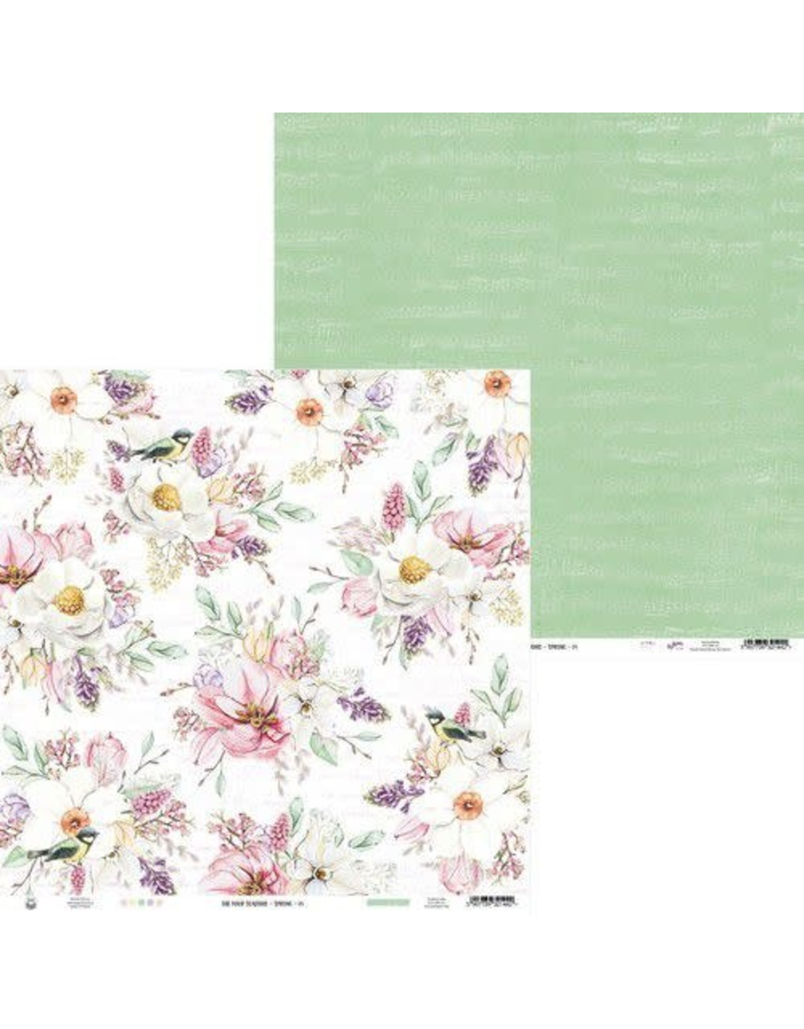 Piatek Piatek13 - Paper The Four Seasons - Spring 04 P13-SPR-04 12x12