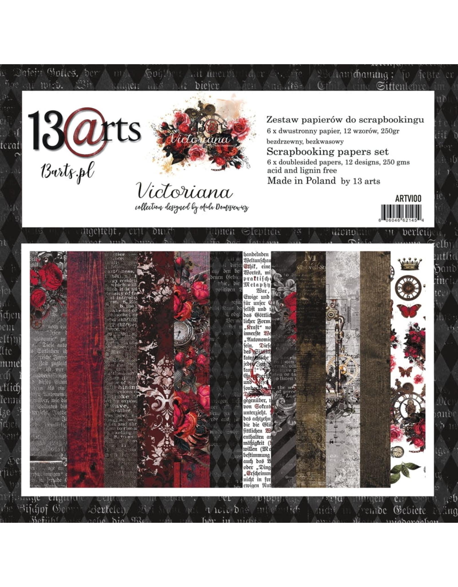13@rts 13@rts Victoriana paperpad 12 x12