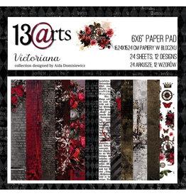 13@rts 13@rts Victoriana paperpad 6x6