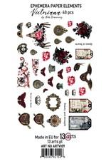 13@rts 13@rts ephemera pack Victoriana