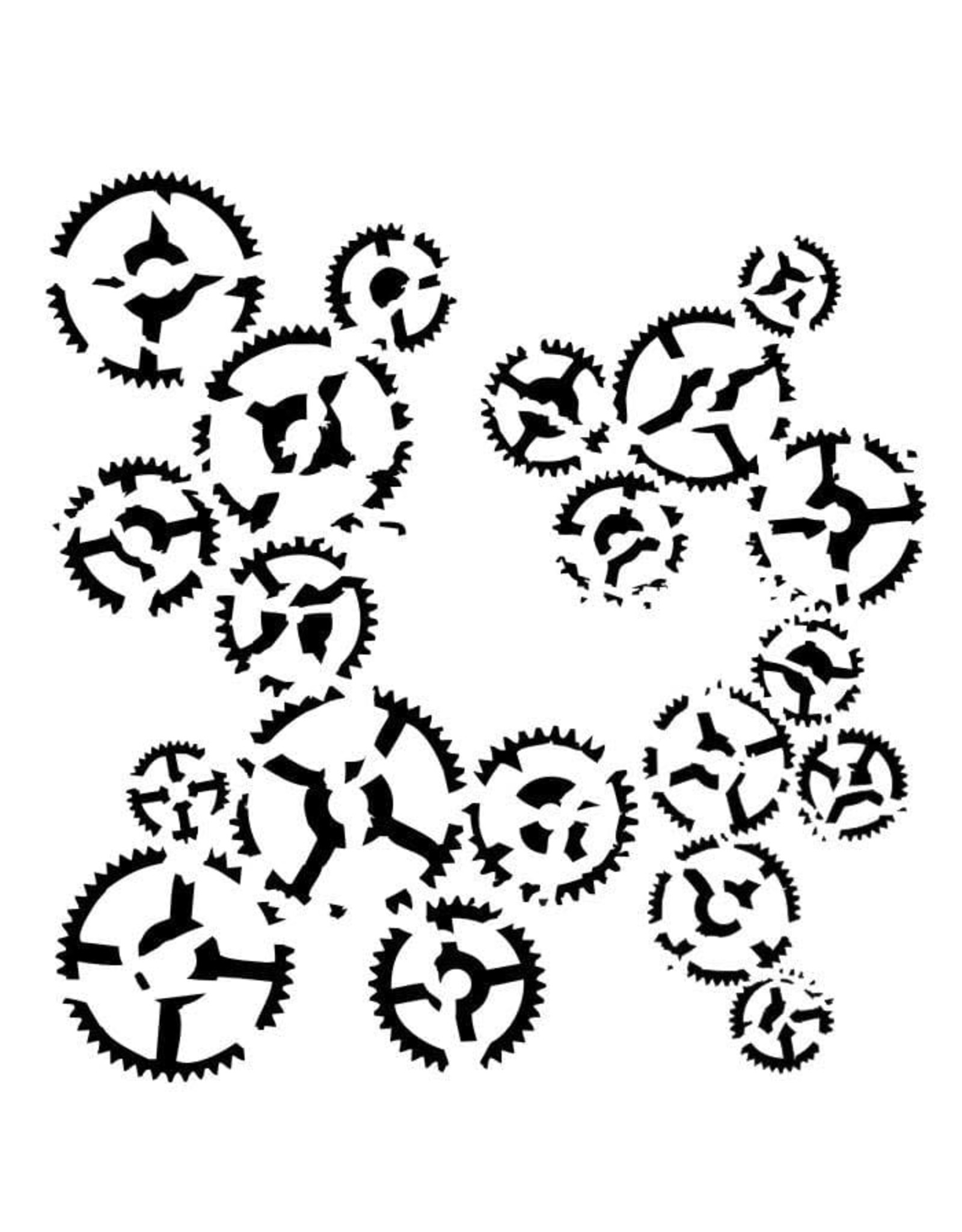 13@rts 13@rts mask stencil  dance of gears