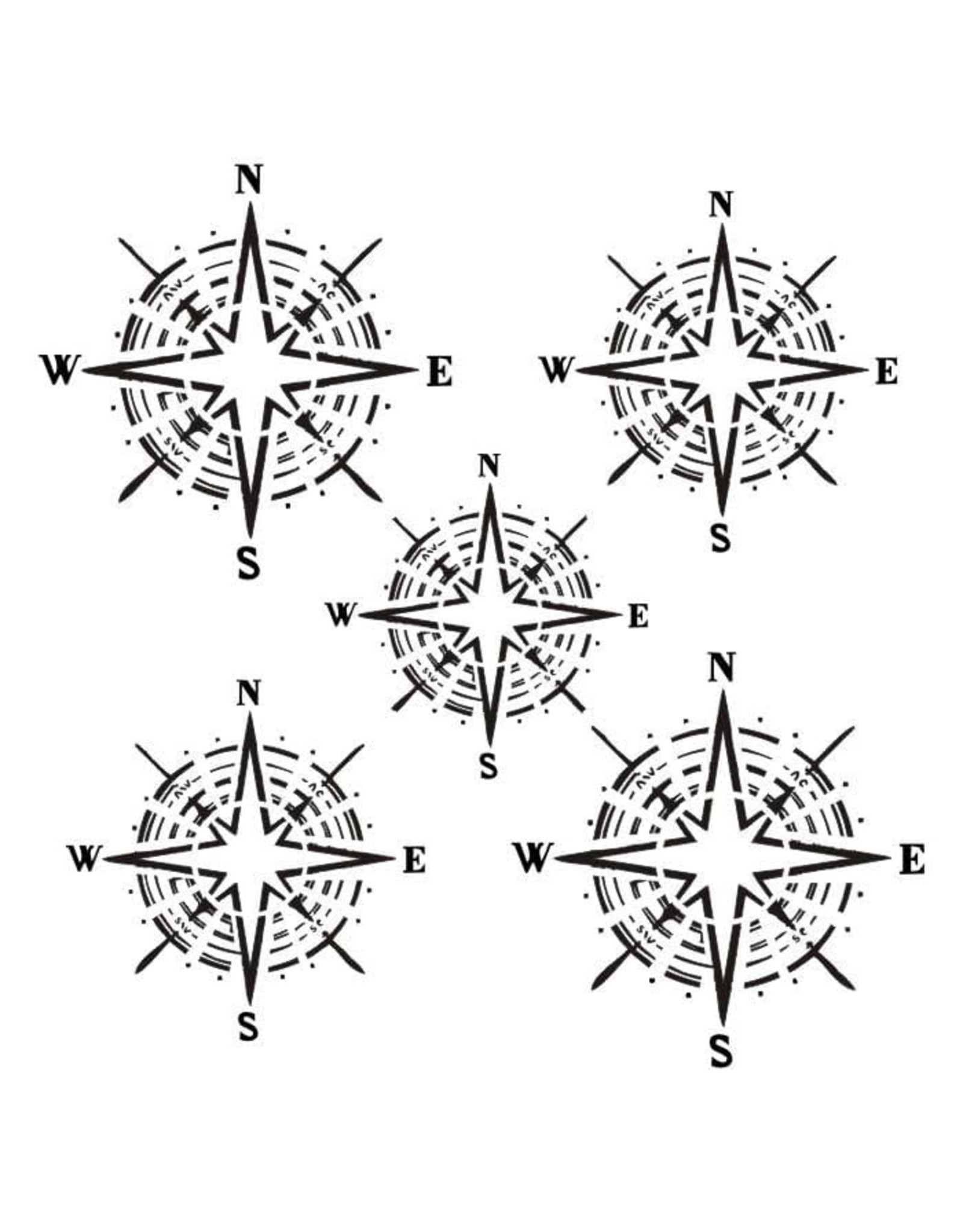 13@rts 13@rts mask stencil The wind rose